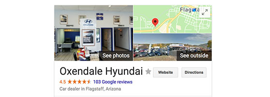 Oxendale Hyundai reviews